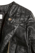 Biker jacket - Black - Kids | H&M CN 5
