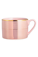 Patterned mug - Dusky pink - Home All | H&M CA 2