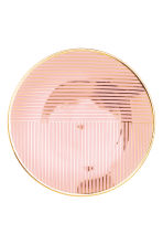 Patterned plate - Dusky pink - Home All | H&M CN 2