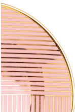 Patterned plate - Dusky pink - Home All | H&M CN 3