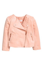 Biker jacket - Powder pink - Kids | H&M 2