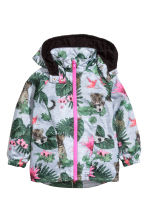 Windproof jacket - Grey/Patterned - Kids | H&M 2