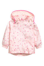 Windproof jacket - Light pink/Heart - Kids | H&M 2