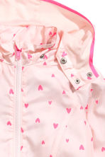 Windproof jacket - Light pink/Heart - Kids | H&M 3
