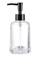 Pompe à savon - Plastique transparent - Home All | H&M FR 1