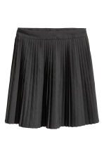 Pleated skirt - Black - Ladies | H&M GB 2