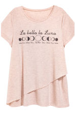 MAMA Nursing pyjamas - Old rose - Ladies | H&M 5