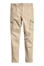 Cargo trousers Slim fit - Beige - Men | H&M CA 2