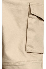 Cargo trousers Slim fit - Beige - Men | H&M CA 3