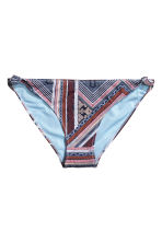 Bikini bottoms - Dark blue/Patterned - Ladies | H&M 2