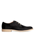 Derby shoes - Black/Beige - Men | H&M 1