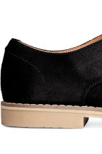 Derby shoes - Black/Beige - Men | H&M 4