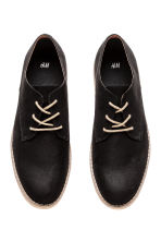 Derby shoes - Black/Beige - Men | H&M 2
