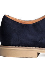 Derby shoes - Dark blue - Men | H&M CN 4