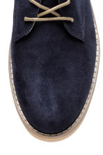 Derby shoes - Dark blue - Men | H&M 3