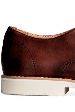 Derby shoes - Dark cognac brown - Men | H&M 3