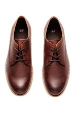 Derby shoes - Dark cognac brown - Men | H&M 2