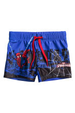 Costume da bagno con stampa - Blu fiordaliso/Spiderman -  | H&M IT 1