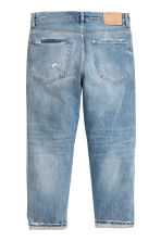 Straight Cropped Jeans - Light denim blue - Men | H&M 3