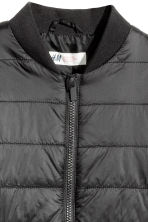 Padded bomber jacket - Black - Kids | H&M 3