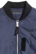 Bomber jacket - Dark blue - Kids | H&M 3