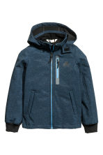 Softshell jacket - Dark blue marl - Kids | H&M CN 2