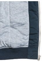 Padded jacket - Dark blue - Kids | H&M CN 3