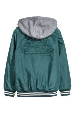 Lined nylon jacket - Petrol - Kids | H&M 3