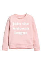 Sweatshirt - Light pink - Kids | H&M 2