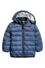 Padded jacket - Dark blue - Kids | H&M CN 2
