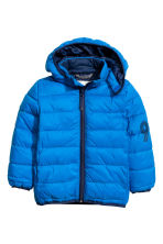 Padded jacket - Cornflower blue - Kids | H&M CN 2