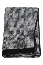 Herringbone bath towel - Black - Home All | H&M CN 1