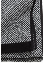 Herringbone bath towel - Black - Home All | H&M CN 3