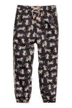Pantaloni pull-on - Nero/leopardi - BAMBINO | H&M IT 2