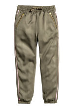 Pull-on trousers - Khaki green - Kids | H&M 2