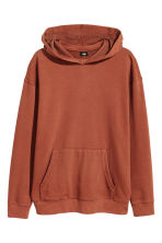 Hooded top - Rust - Men | H&M 2