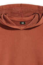 Hooded top - Rust - Men | H&M 3
