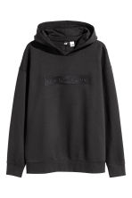 Hooded top with a motif - Black/Star Wars - Men | H&M 2