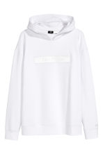 Hooded top with a motif - White/Star Wars - Men | H&M 2