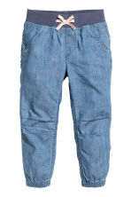 Pull-on trousers - Denim blue -  | H&M 2