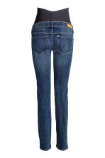MAMA Straight Jeans - Dark denim blue - Ladies | H&M CN 3