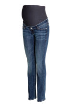 MAMA Straight Jeans - Dark denim blue - Ladies | H&M CN 2