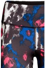 Sports tights - Neon pink/Patterned - Ladies | H&M 3