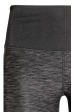 Yoga tights - Dark grey marl - Ladies | H&M CN 3