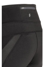 Running tights - Black - Ladies | H&M 4