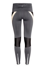 Running tights - Dark grey/Powder - Ladies | H&M CN 3
