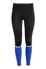 Leggings da running - Nero/blu - DONNA | H&M IT 2
