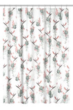 Photo-print shower curtain - White/Floral - Home All | H&M CN 1