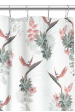 Photo-print shower curtain - White/Floral - Home All | H&M CN 2
