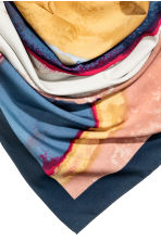 Foulard grande - Blu scuro/fantasia - DONNA | H&M IT 3